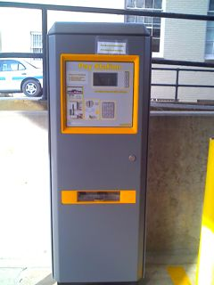 Pay-and-Go Parking Machine